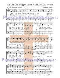 The Old Rugged Cross Made The Difference Sheet Music 30 Best Downloadable Signs Cards And Art Images On Pinterest