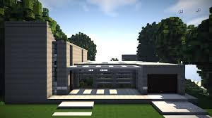 minecraft modern concept home build review youtube