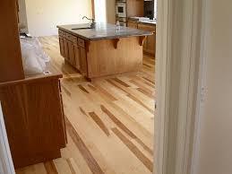 hickory hardwood floor glued to concrete slab owens plank flickr