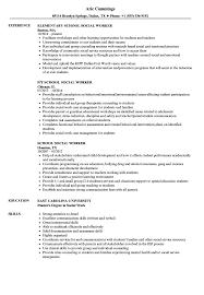 social worker resume exles school social worker resume sles velvet