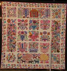 Kaffe Fassett Tapestry Cushion Kits Come Quilt Sue Garman Happy New Year