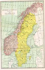 Map Sweden 25 Beste Ideeën Over Norway Map Op Pinterest