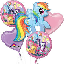 mylar balloon bouquet best 25 my pony balloons ideas on my