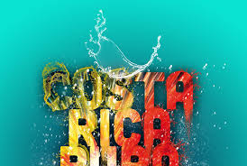 costa rica pura vida poster on behance