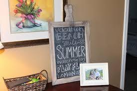 Decorative Chalkboard For Kitchen Chalkboard Paint Ideas For Kitchen Chalkboard Ideas With Frame