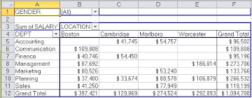 excel pivot table tutorial 2010 creating pivottable reports and charts with vba in excel 2010