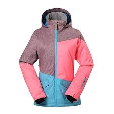 Gsou Snow Women Thermal Waterproof Windproof Colorful Ski Jacket