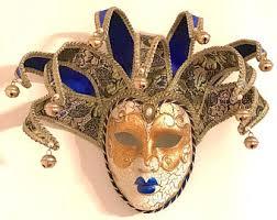 jesters mask vintage jester mask etsy