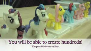 my little pony cake topper tutorial now available youtube