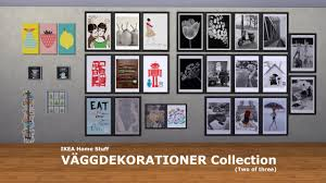 mod the sims ikea home stuff väggdekorationer collection 2 of 3