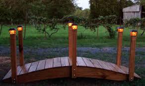 Best Solar Garden Lights Garden Bridges With Solar Lights