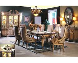 Traditional Dining Room Furniture Sets 9pc Traditional Dining Set In Antique Beige Mcfrd300