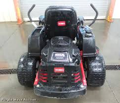 toro time cutter z5020 ztr lawn mower item da1795 sold