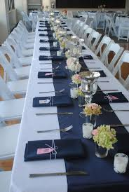 royal blue table runner wedding home table decoration