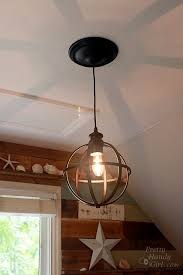 Convert Recessed Light To Pendant 5 Minute Light Upgrade How To Convert Your Recessed Light To A