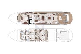 Luxury Yacht Floor Plans by Fleur Sunseeker 116 Luxury Charter Yacht Mediterranean