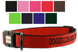 personalized collars 4 dogs custom embroidered collars