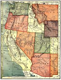 State Map Of Oregon by United States Digital Map Library About