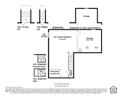 Basement House Floor Plans Fine Ryan Homes Floor Plans Throughout Design