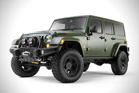 slammed jeep wrangler filson x aev jeep wrangler hiconsumption