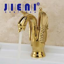 Swan Bathroom Faucet Popular Gold Swan Faucet Buy Cheap Gold Swan Faucet Lots From
