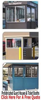 security booth guard booths portafab 15 best prefab guard shacks security guard houses images on