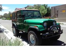 cj jeep wrangler classic jeep cj7 for sale on classiccars com