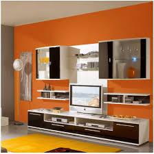 Wohnzimmer Orange Wohnzimmer Wandgestaltung Ideen Sessel Farbe Orange Wohnzimmer