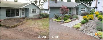 Landscaping Ideas For A Sloped Backyard Sloped Front Yard Landscape Featured Projects Take Root With