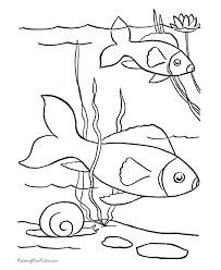 fish templates printable coloring home