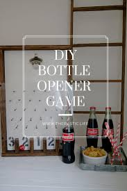 family fun with a diy bottle opener game the rustic life