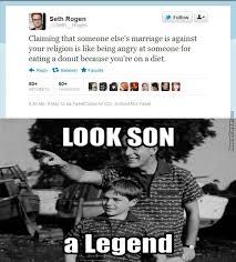 Seth Rogen Meme - silly seth rogen religion isn t reasonable by gota115 meme center