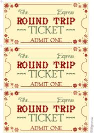 polar express ticket clipart 45