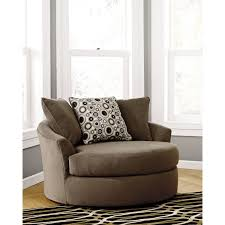 Round Swivel Chair Chair Modern Oversized Swivel Accent Chair Great Comfort From Furn