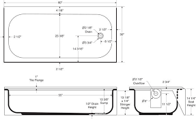 bathtubs idea new released bath tub dimensions bath tub
