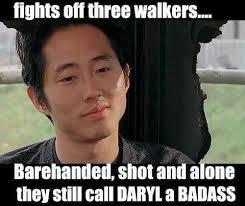Glenn Walking Dead Meme - the walking dead funny meme i think glenn was bit and just didn t