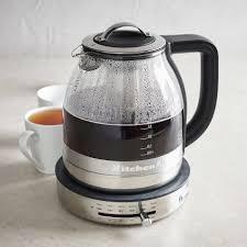 sur la table tea kettle kitchenaid electric glass kettle sur la table