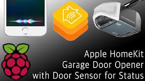 Home Kit by Tutorial Siri Homekit Garage Opener With Raspberry Pi New Youtube