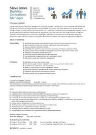 Free Resume Examples by Sales Manager Cv Example Free Cv Template Sales Management Jobs
