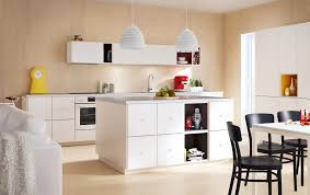 furniture modern ikea kitchen ideas with white doors drawers and