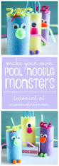 pool noodle monsters create craft love