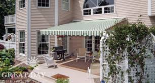 Patio Awning Parts Retractable Awning Ideas Pictures U0026 Designs Great Day Improvements