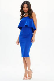 royal blue dress blue dress navy light royal blue dresses missguided