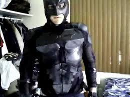 batman homemade costume the dark knight homemade costume part 1