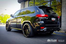 jeep srt jeep cherokee srt 8 with 22in savini bm12 wheels exclusively from