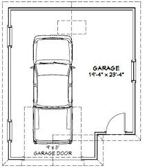 20x24 1 car garage 20x24g5 456 sq ft excellent floor plans