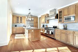 kitchen with light wood cabinets lighted kitchen cabinets faced