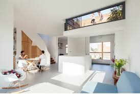 a clever sunken roof fills london terrace house with light dwell