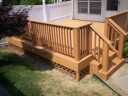 Deck Design Ideas by Deck Design Ideas Real Wood Vs Decks That Look Like Wood St