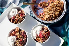 thanksgiving fruit recipes thanksgiving recipe apple and stone fruit crumble with pistachio oat